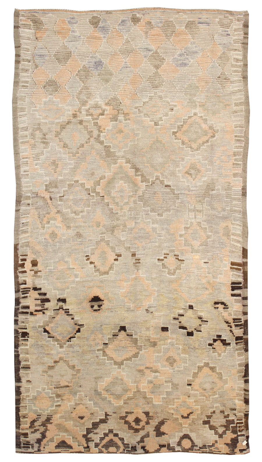 MOROCCAN HANDKNOTTED RUG, 61923