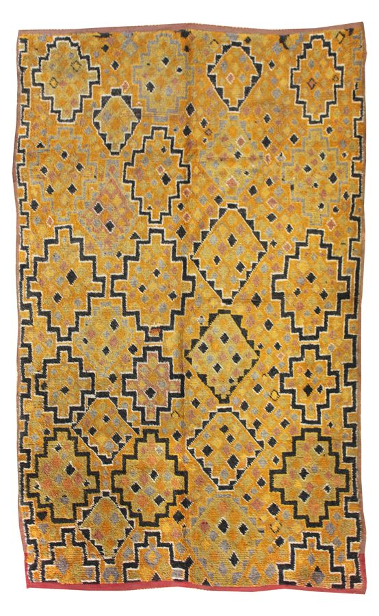 GABBEH HANDKNOTTED RUG, J24399