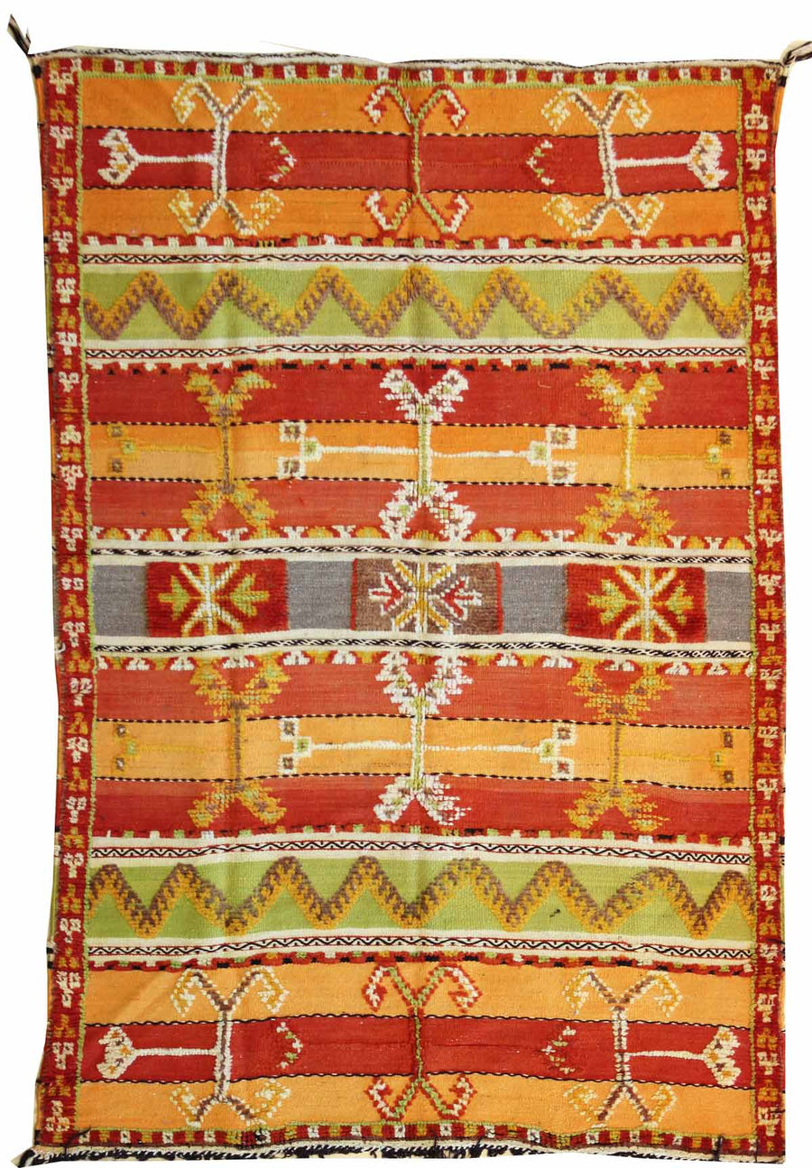 HIGH ATLAS HANDWOVEN RUG, J38342