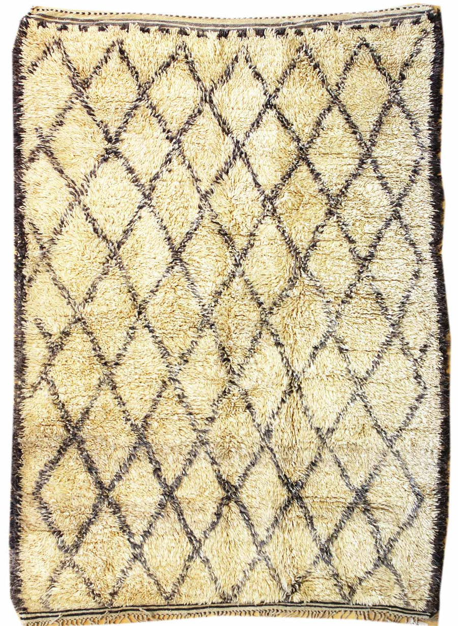 BENI OURAINE HANDKNOTTED RUG, J38343