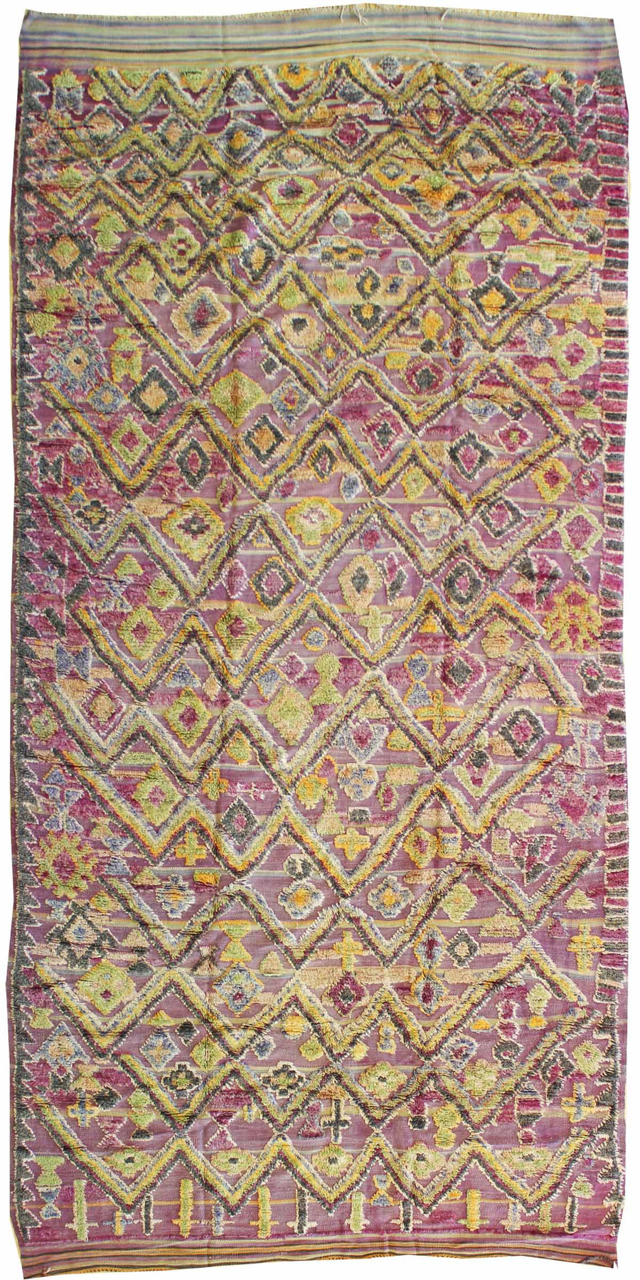 MIDDLE ATLAS HANDWOVEN RUG, J38933