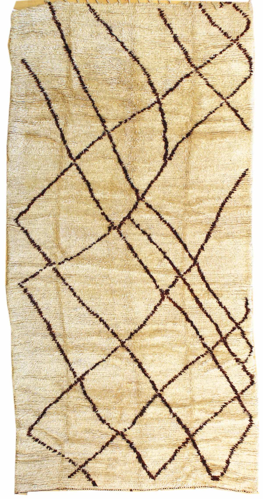 BENI OURAINE HANDKNOTTED RUG, J38946