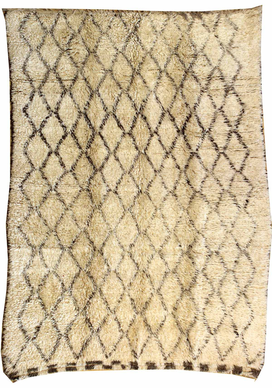 BENI OURAINE HANDKNOTTED RUG, J38953
