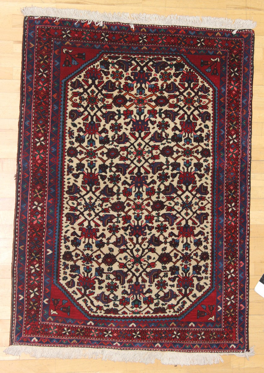 MALAYER HANDKNOTTED RUG, J41824