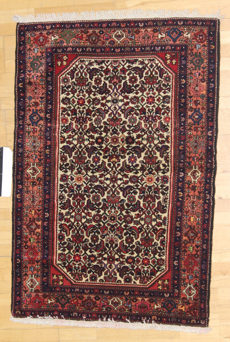 MALAYER HANDKNOTTED RUG, J41825