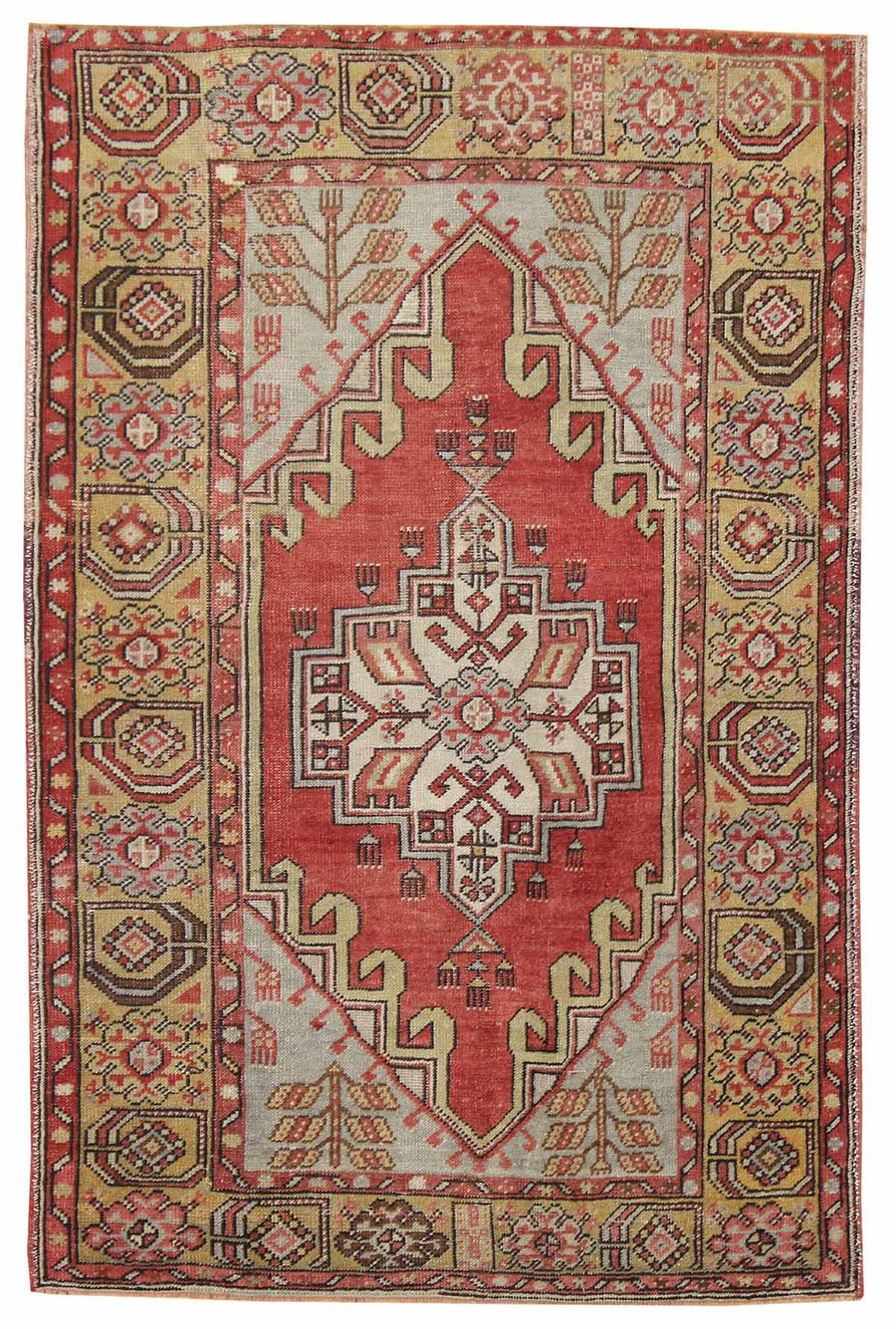ORTAKOY HANDKNOTTED RUG, J42264