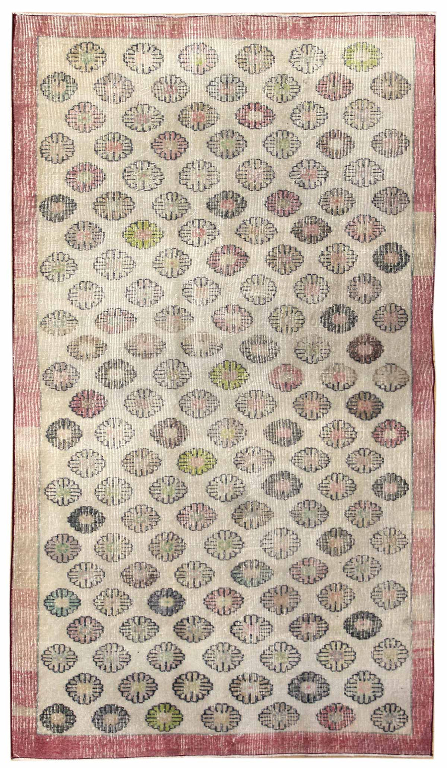 BLOSSOM HANDKNOTTED RUG, J45420