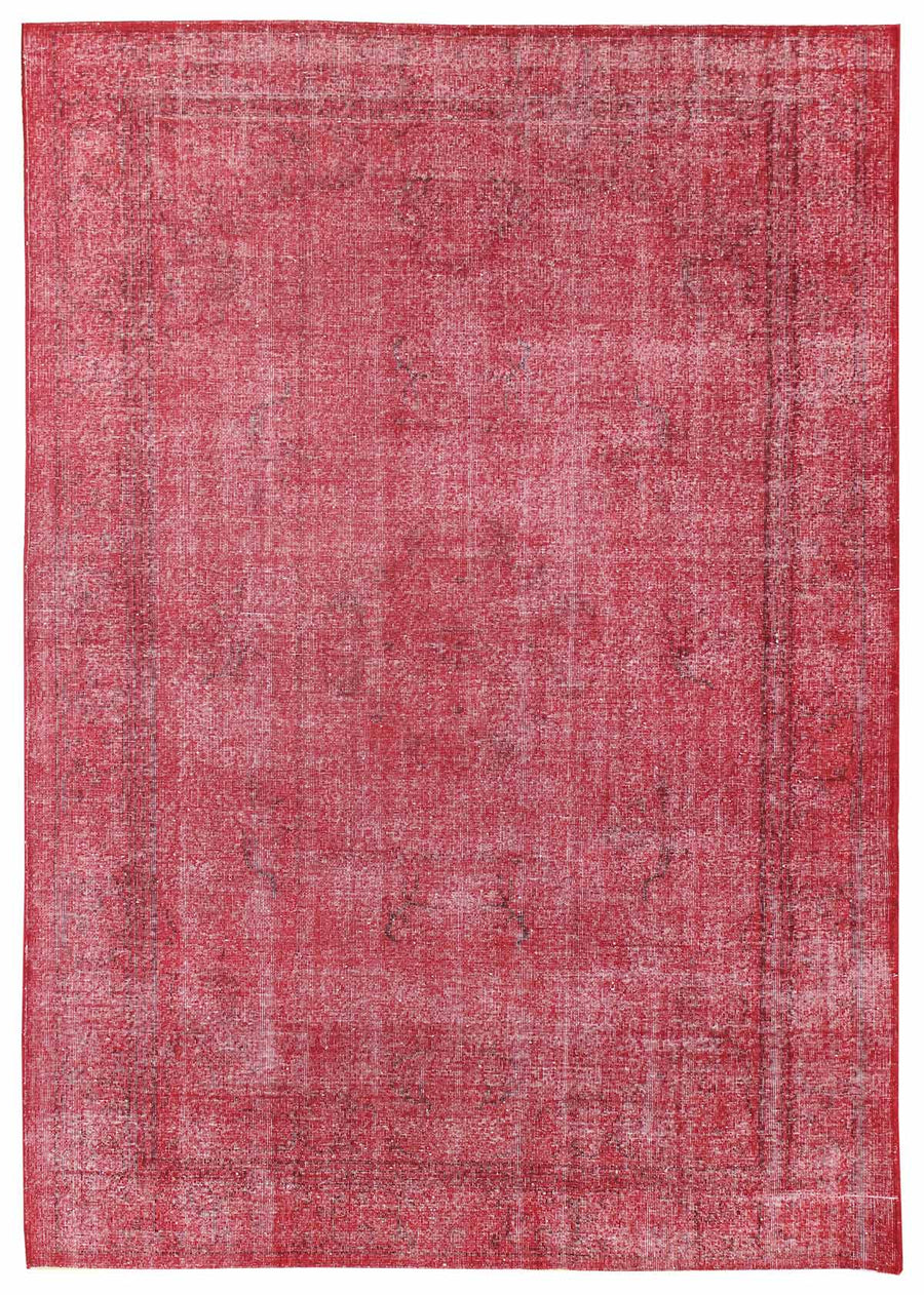 OVERDYED HANDKNOTTED RUG, J45887