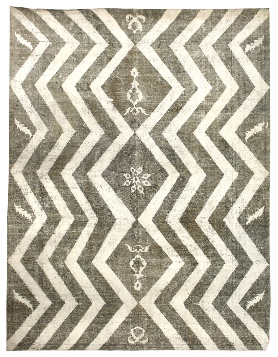 RECYCLED HANDKNOTTED RUG, J50739