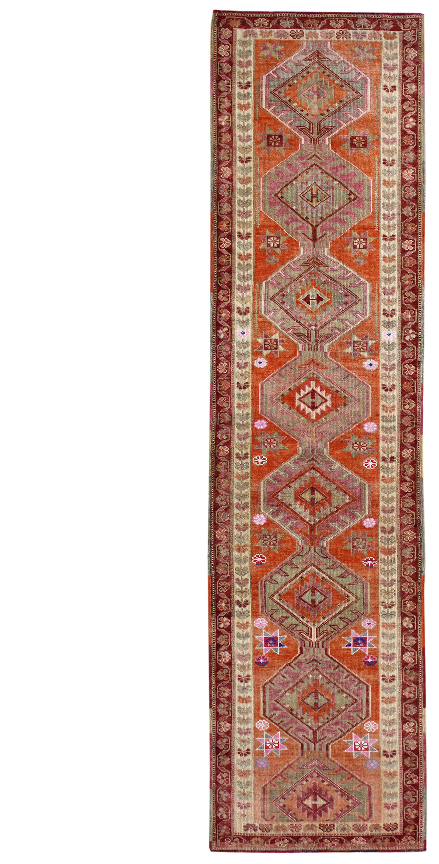 KURDISH HANDKNOTTED RUG, J54110