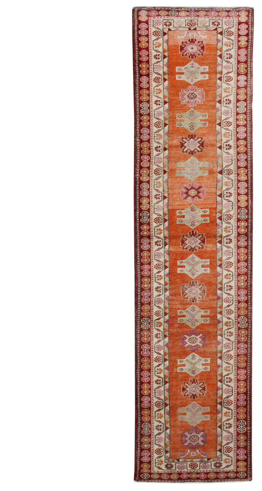 KURDISH HANDKNOTTED RUG, J54116