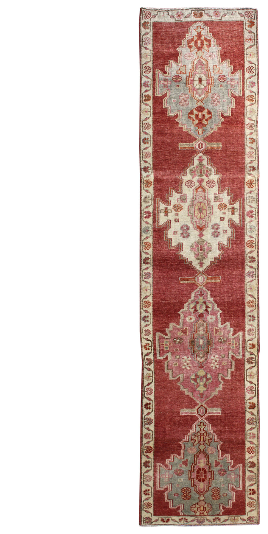 KURDISH HANDKNOTTED RUG, J54117