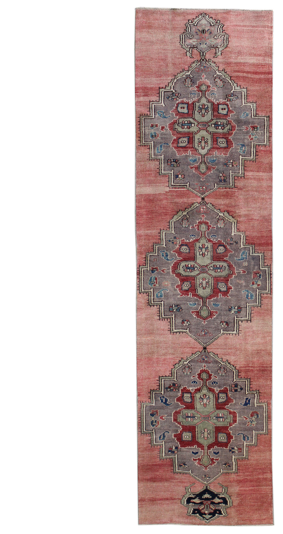 KURDISH HANDKNOTTED RUG, J54119