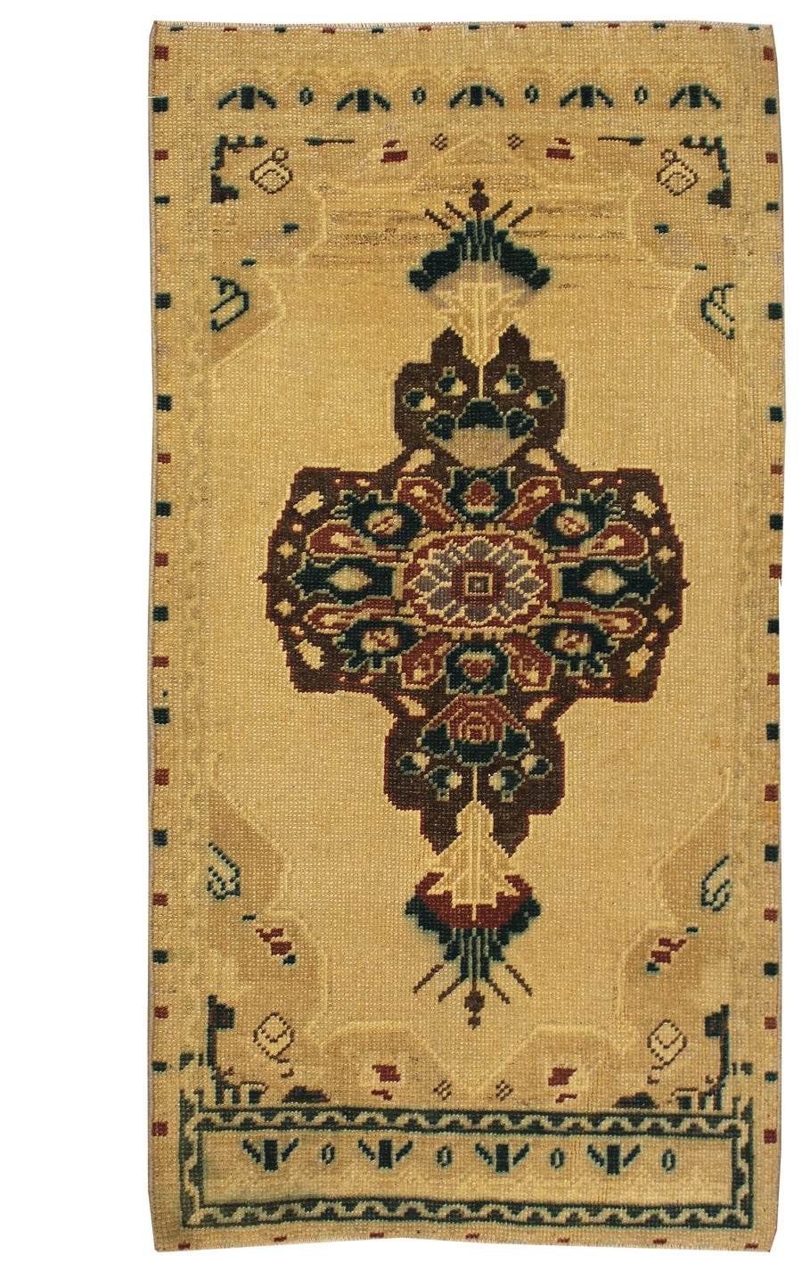 YASTIC HANDKNOTTED RUG, J57017