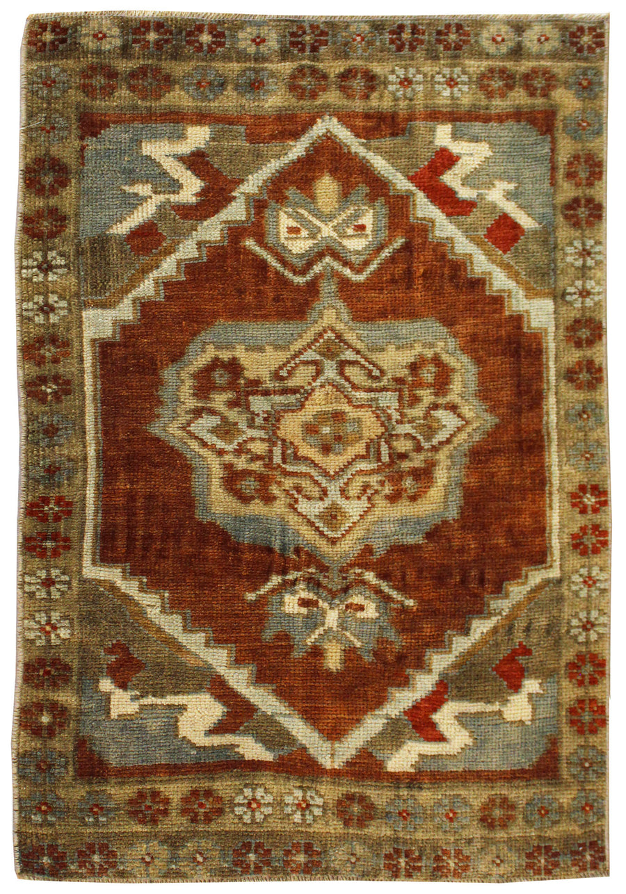 YASTIC HANDKNOTTED RUG, J57023