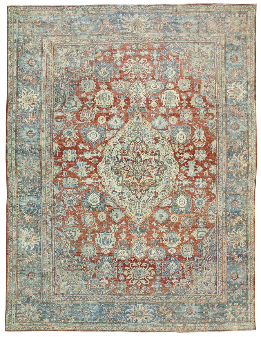 Mahal Handknotted Rug, J58592