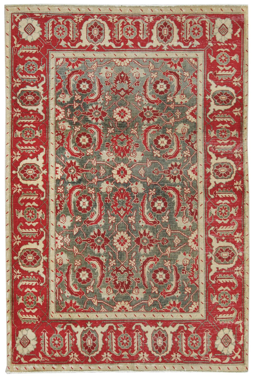 AGRA HANDKNOTTED RUG, J58725