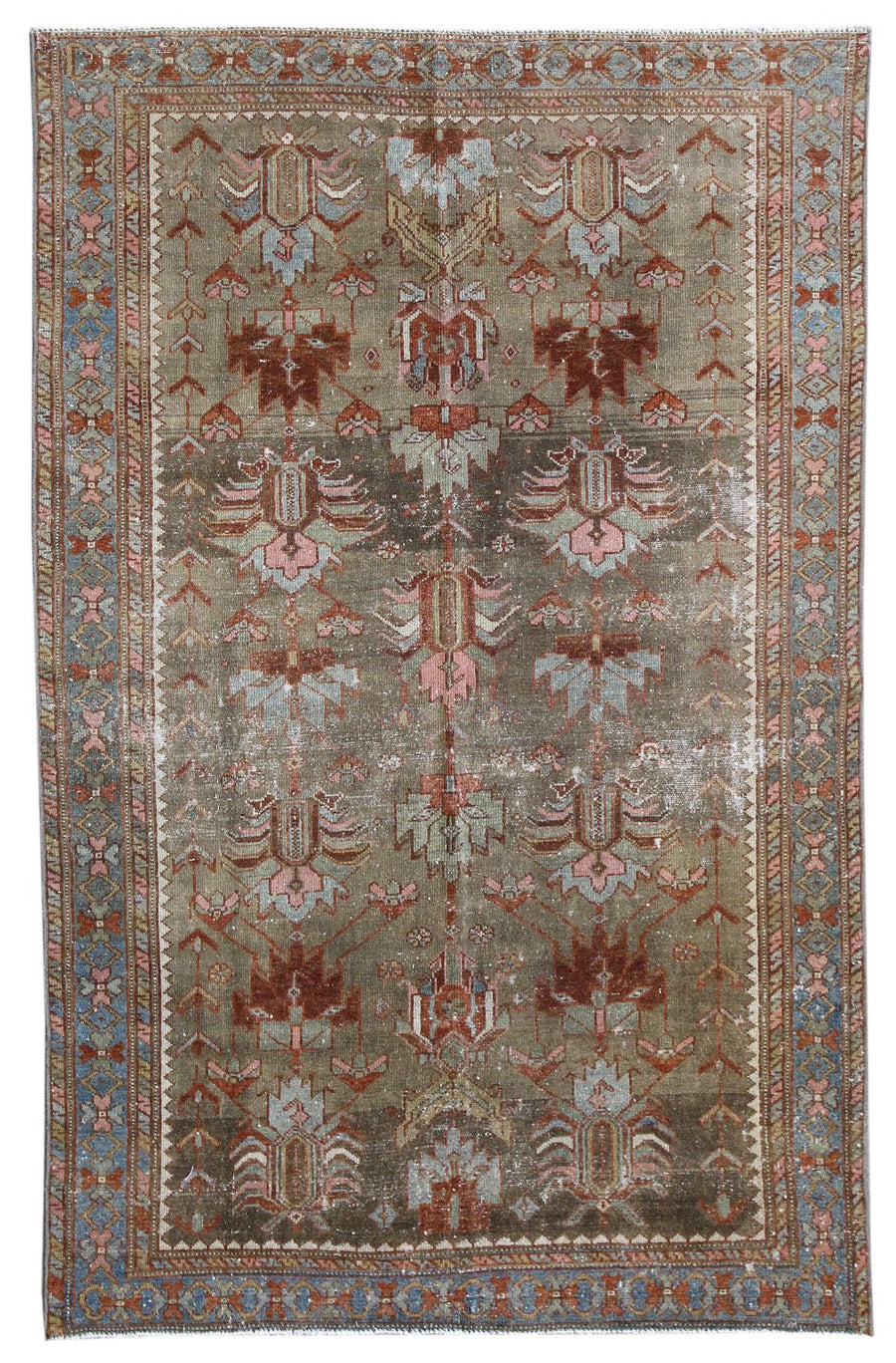 MALAYER HANDKNOTTED RUG, J58728