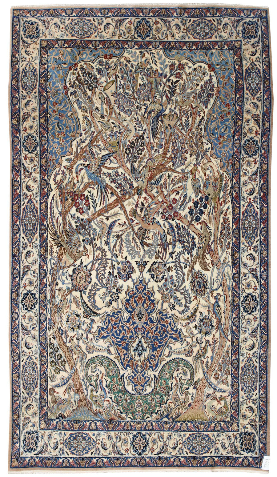 I HAVE MY EYES ON YOU HANDKNOTTED RUG, JF4847