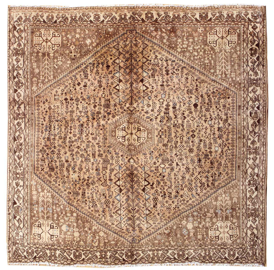 ABADEH HANDKNOTTED RUG, JF5499