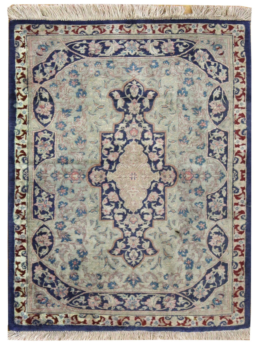 QUM HANDKNOTTED RUG, JF6771