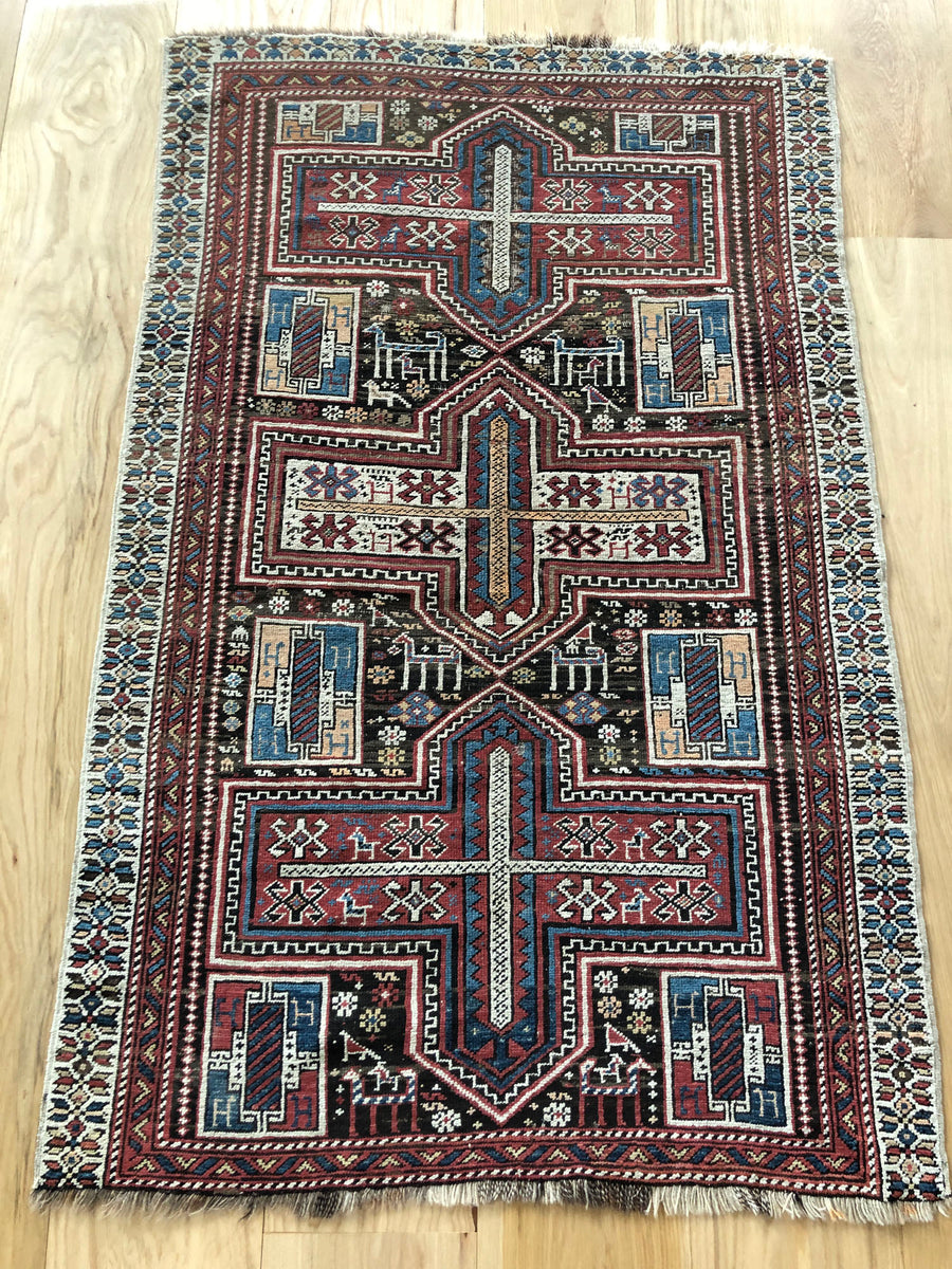 Shirvan Handknotted Rug, OSR0024