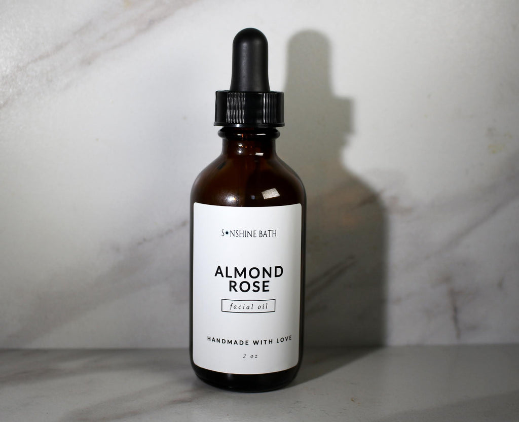 Almond Rose Facial Oil