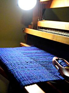 Weaving with Handspun - Fingers crossed!
