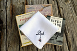 Fishing Lure Handkerchief for  Dad