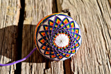 Rainbow Bright Temari Poi