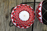 Poi Set Custom Starburst Poi Temari Flow Toy Spin Spinning
