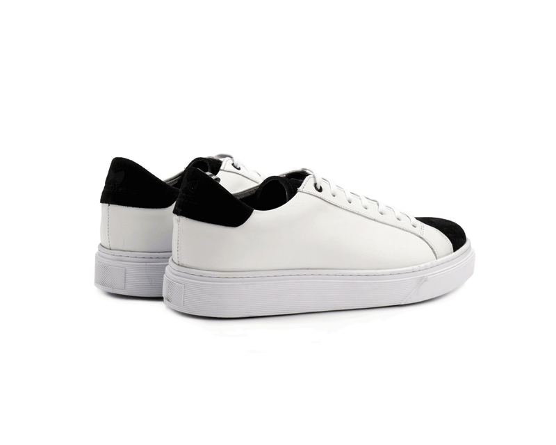 599 - White & Black (White Sole)