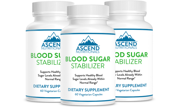 Blood Sugar Stabilizer 6 Bottles - First Time Customer