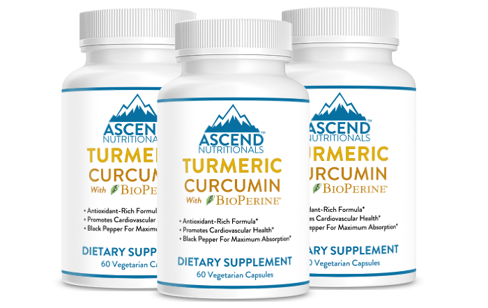 Turmeric Curcumin 3 Bottle Discount