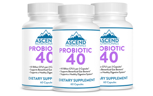 Probiotic 40 3 Bottle Discount