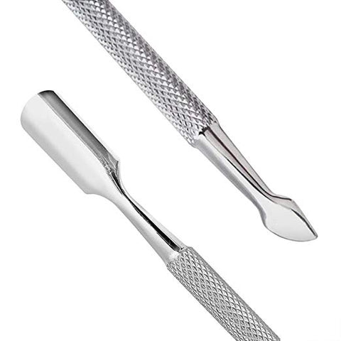 Premium Stainless Steel Cuticle Pusher Cutter