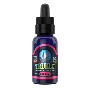 TruBlu Berry – CBD Tincture 3000mg by Blue Moon Hemp - CBD On Demand