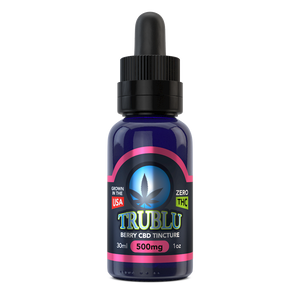 TruBlu Berry – CBD Tincture 500mg by Blue Moon Hemp - CBD On Demand
