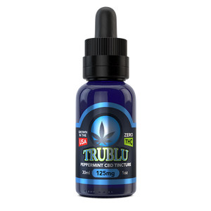TruBlu Peppermint – CBD Tincture 125mg by Blue Moon Hemp - CBD On Demand