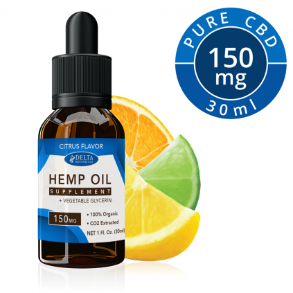 Citrus Fruits CBD 150mg by Delta Botanicals Syncee - CBD On Demand