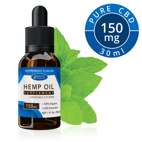 Peppermint CBD 150mg by Delta Botanicals Syncee - CBD On Demand