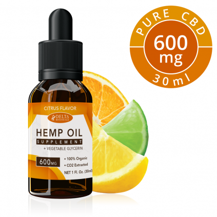 Citrus Fruits CBD 600mg by Delta Botanicals Syncee - CBD On Demand