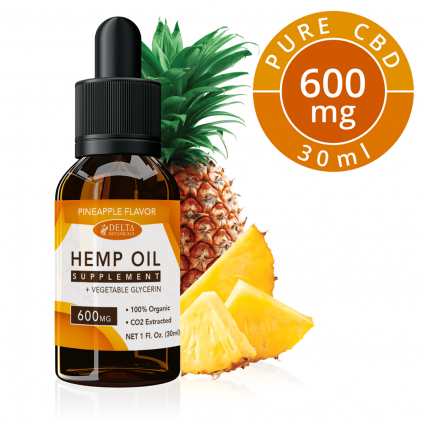 Pineapple CBD 600mg by Delta Botanicals Syncee - CBD On Demand