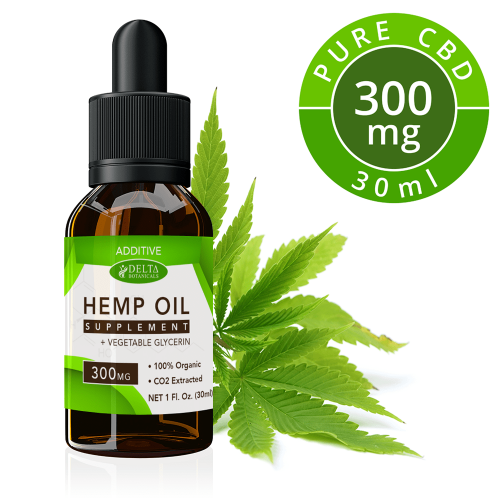 CBD Additive 300mg by Delta Botanicals Syncee - CBD On Demand