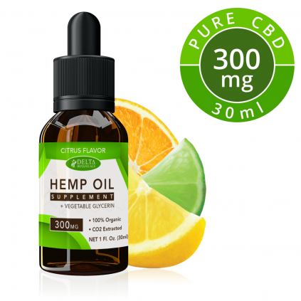 Citrus Fruits CBD 300mg by Delta Botanicals Syncee - CBD On Demand