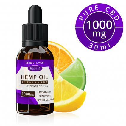 Citrus Fruits CBD 1000mg by Delta Botanicals - CBD On Demand
