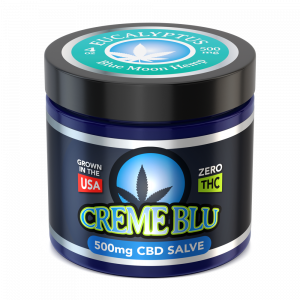 CBD SALVE EUCALYPTUS (1oz, 2oz, 4oz) TOPICAL CREAM by CBD On Demand BMH - CBD On Demand