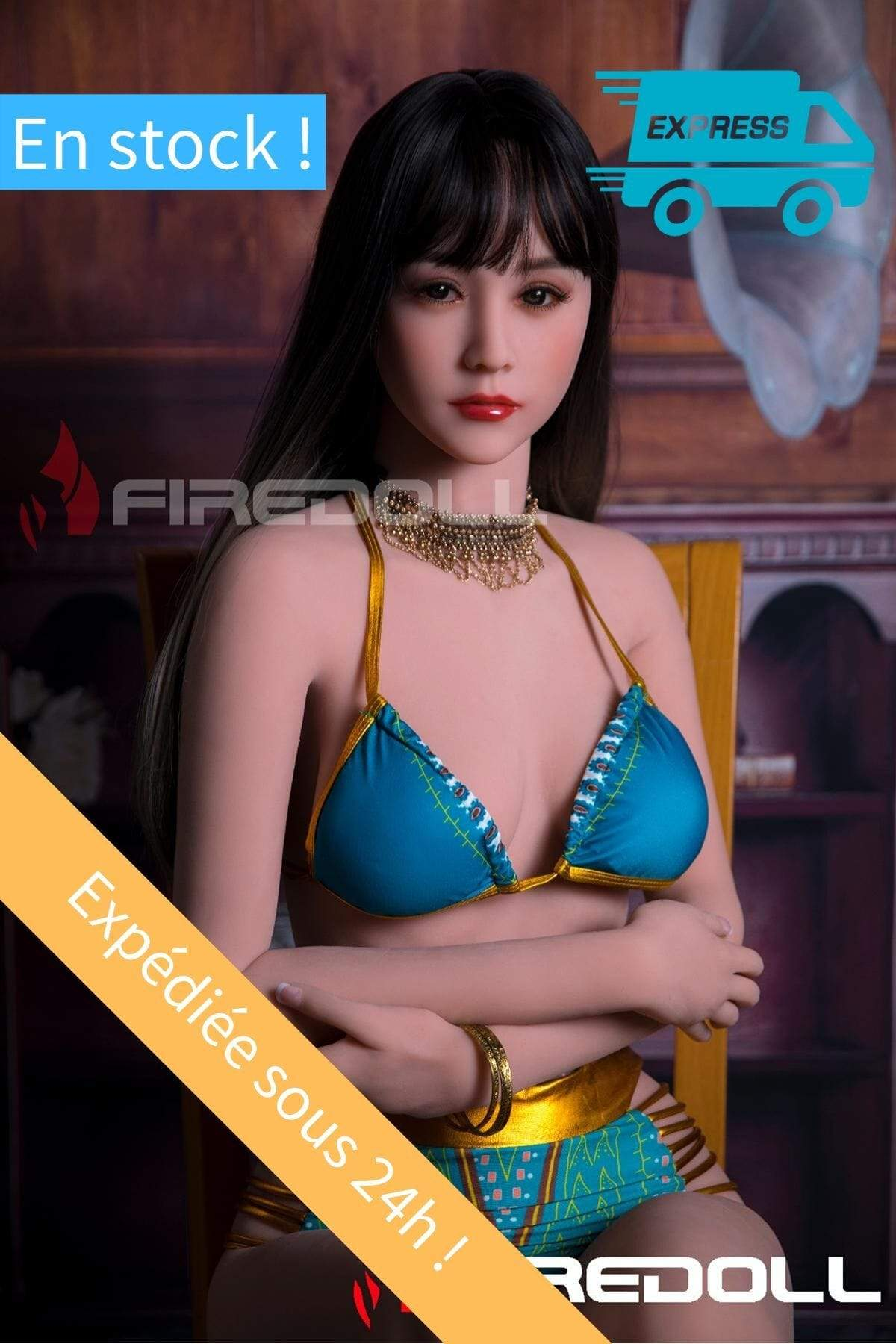 Realdoll en stock Fire Doll 166 cm bonnet C - Amia belle asiatique