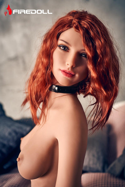 Sex doll en stock Fire Doll 166 cm bonnet C - Holly Belle Rousse