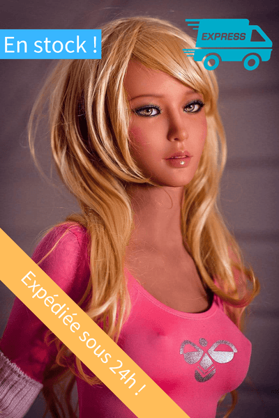 Jennifer Sex Doll Blonde Livraison Express<br> WM Dolls 157 cm